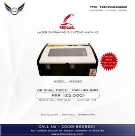 LASER ENGRAVING & CUTTING MACHINE, Multan.