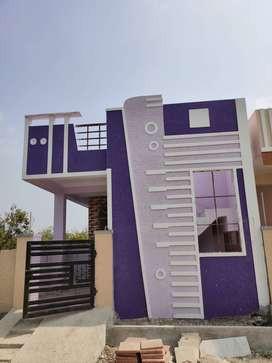 2 bhk ready to move  independent house available near to ecil