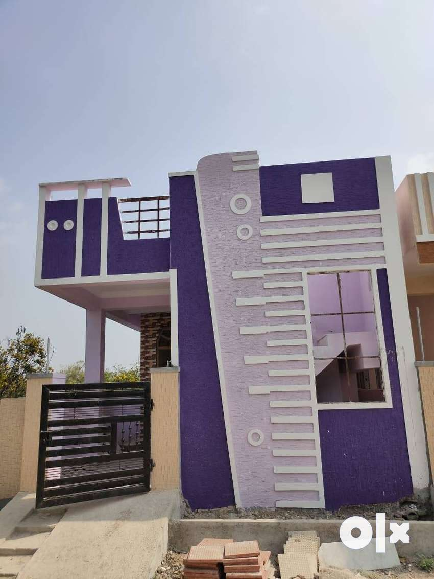 850 sft  2bhk ready to move  independent house available near to ecil 0