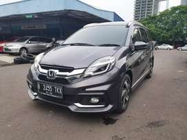 Honda Mobilio RS AT (AC Digital) NIK 2016 Abu abu KM 40ribuan