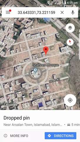 Shaheen town phase 2 islambad pair plots for sale