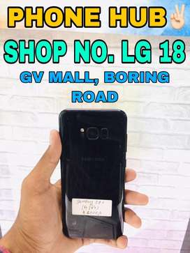 Samsung S8+ (4/64) Black In Super Mint Condition Available Here