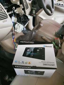Kenwood Dmx 1025bt Mirrorlink Mp4 plus Pasang   Boy Audiophile