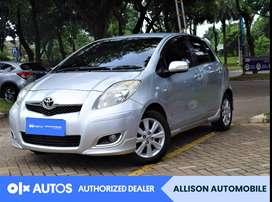 [OLX Autos] Toyota Yaris 2011 E 1.5 A/T Bensin Silver #Allison