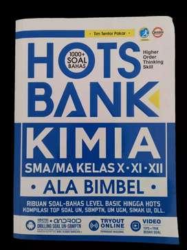 PRELOVED BUKU HOTS BANK KIMIA