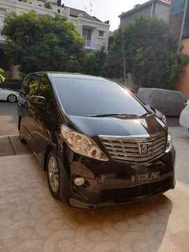 Toyota Alphard 2.4 S  2012