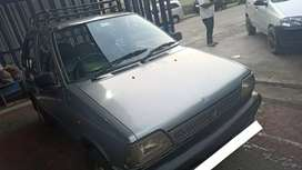 Maruti 800 in excellent running condition relocation sale.