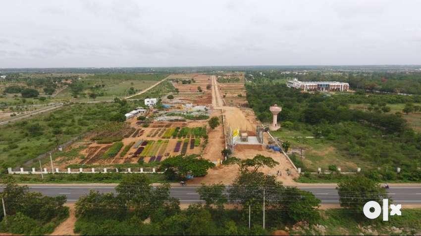Gated Community Open Plots for Sale at Tukkuguda Srisailam Highway 0