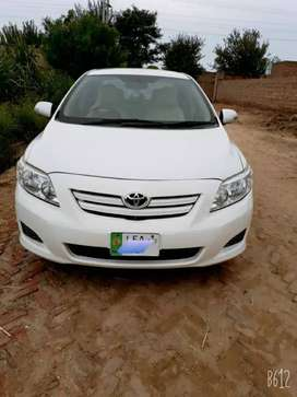 Toyota corolla xli 2009 on easy installment