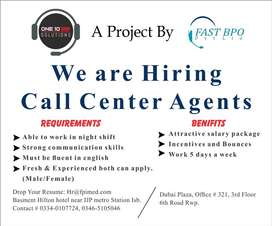 We are hiring CSR for night shift US based campaign