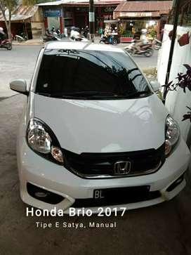 Honda brio E 2017 manual