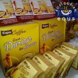 Coffee EQUS kopi rasa durian dan gingseng
