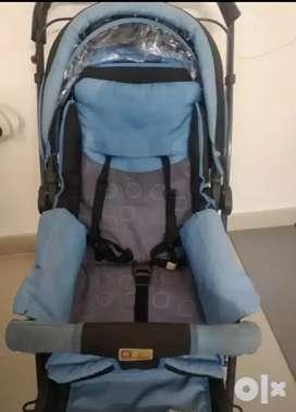 Mee Mee (blue) - Baby Pram/Stroller
