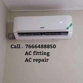 AC fitting AC repair AC service AC gas filling contact technician