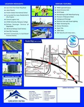 HMDA Approved plots In Nandigaon Patancheruvu