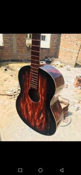 Acoustic and electric new second hand guitar