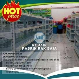 Jual Rak Toko Rak Minimarket Balikpapan