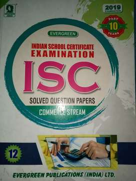 ISC commerce Question Bank class 12