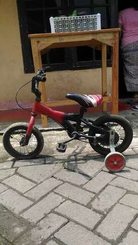 Dijual sepeda anak apa adanya