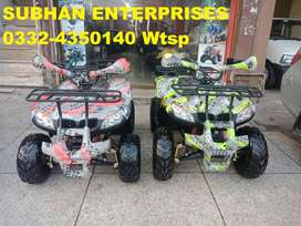 Durable & Powerful Engine 125cc ATV QUAD 4 Wheels Bike Deliver In All