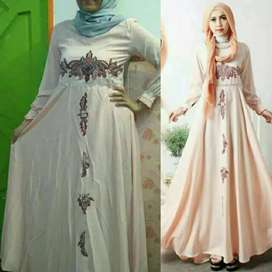 Dress muslim gaun cantik