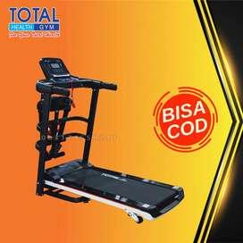 treadmill elektrik tl 607 treadmil 1,5 hp total COD Cilacap