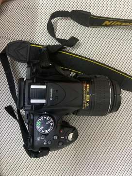 D5200 nikon DSLR camera