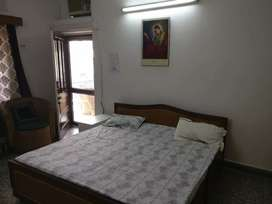 One bedroom fully furnished with attached washroom & without kitchen