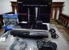 Dijual PS3 Full isi 100 game lengkap fullset + 2 Stik SONY