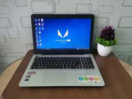 Laptop Asus X555QG Siap Game dan Render