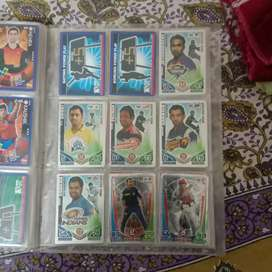 Cricket attax cards from 2011 - 2017