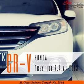 Honda CR-V prestige 2.4 matic 2013,gratis balik nama,dp kredit 37juta