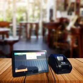 Paket Mesin kasir POS android Buat Resto,Retail,Frozenfood,Cake