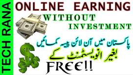Earn online Rs=300/- to 500/-