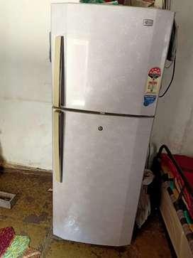 LG double door refrigerator ..new condition