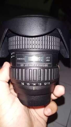 Lensa Tokina 11-16mm F2.8 for Nikon