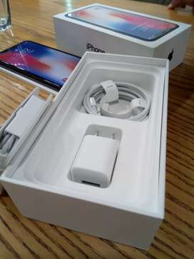 Iphone X 256 GB with All accessories