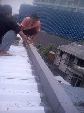 Perbaikan atap bocor,talang,dak,dinding,renovasi,keramik,cat,plafon