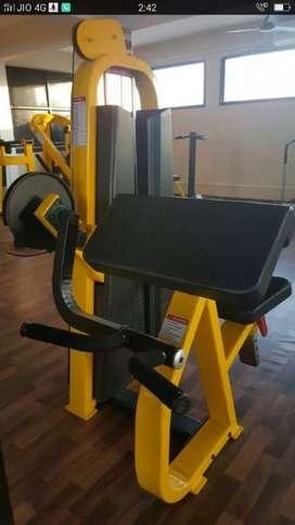 Gym equipments New setup