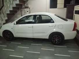 Toyota Etios 2012 Diesel Well Maintained(double tone interior)