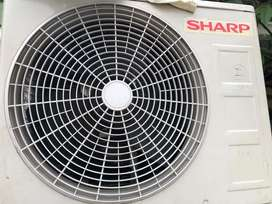AC SHARP 1/2 PK dan 3/4 PK normal jaya harga plus pasang Grs 6 bulan