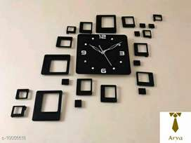 Trendy acrylic clocks/Free home delivery/COD available