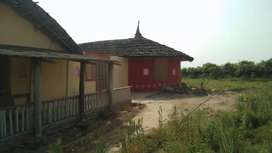Farmhouse for sell 1.5 acre with bondry wall