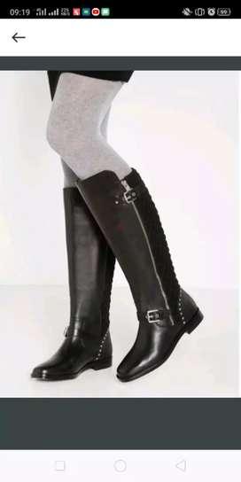 Ralph Lauren leather boots size 36