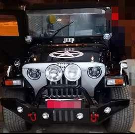 Modified black best quality jeep