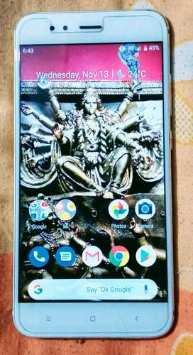 Mi A1 24 megapixal with great condition
