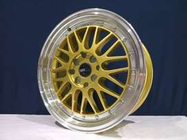 #kreditvelgsigra_LEMANS 306 HSR R16X7 H8X100-114,3 ET38 GOLD/ML