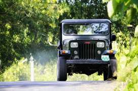 Cut chasis open type Willy's model jeep