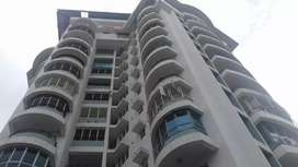 Aluva bank jn: fully furnished flat for rent