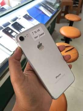 MASIH READY !! SECOND IPHONE 7 32 GB INTER SILVER